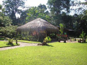 Dining Hall at Christalino Jungle Lodge